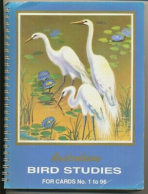 Tuckfield's 1960s Australian Birds – Series1-4 in Albums (262 cards)+Index List