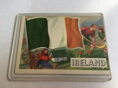 Topps Flags Of The World 1956 VG Ireland #15
