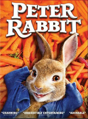 Peter Rabbit (DVD) REGION 1 DVD (USA) Brand New and Sealed