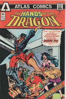 Hands of the Dragon #1 (Atlas Publishing)  June 1975 Very Fine condition