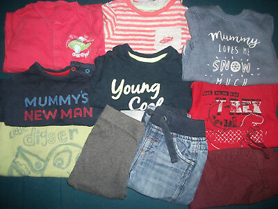 8b5d41531e39 BABY BOYS CLOTHES - 9-12 Months - Mixed Bundle - USED - £5.00 ...