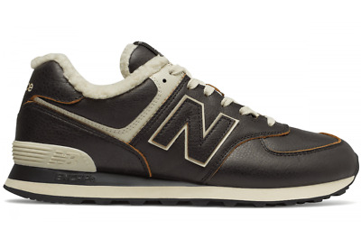 huge selection of e29c8 eaa32 NEW BALANCE 574 Men's New Warm Dark Brown Sail Casual Sneakers Shoes  ML574-WNE