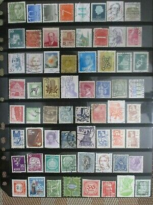 Henry's Stamps- 020705 - 64 Different Worldwide-Used/off Paper-Under A Buck-