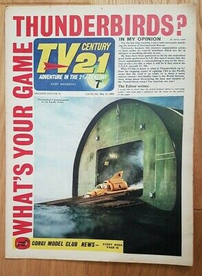 TV century 21 comic universe edition 70 VG stingray/thunderbirds/ fireball xl5