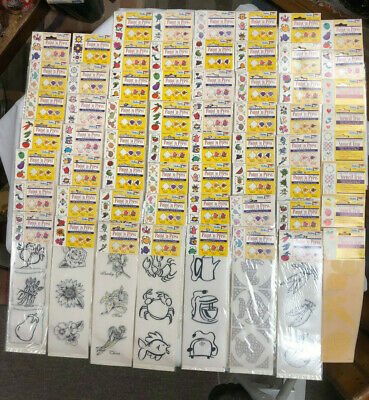 Hug Lot of 62 NEW in Package ~ Paint N Press Transfers and Stencils by Delta FUN