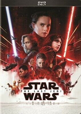 Star Wars: Episode VIII - The Last Jedi [DVD] New and Factory Sealed!!