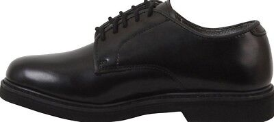 Rothco 5085 Black Soft Sole Leather Oxford Uniform Dress Shoes Size 9.5R 8beca9696bd