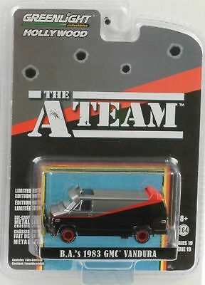 A Team GMC (B) . A. `S Vandura Van Tv Film 1:64 Greenlight Hollywood