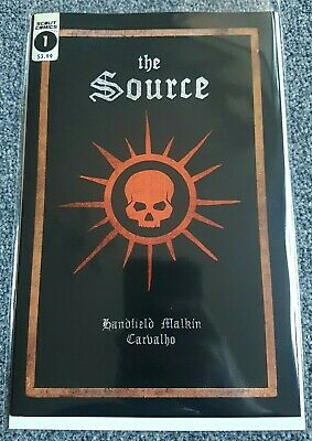 THE SOURCE #1  - Scout Comics 2018 🔥(SOLD OUT / VERY LOW PRINT RUN)🔥