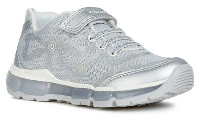 Geox J Kilwi G A Navy Girls Trainers 100/% Positive Reviews