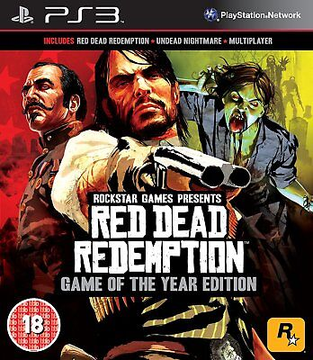 [ PS3 ] Red Dead Redemption - Game of the Year Edition  - SIGILLATO NUOVO