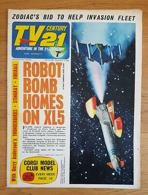 TV CENTURY 21 Issue 98 FIREBALL XL5, STINGRAY,  DALEKS/THUNDERBIRDS VG/FN