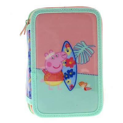 Peppa Pig Estuche Triple Surf