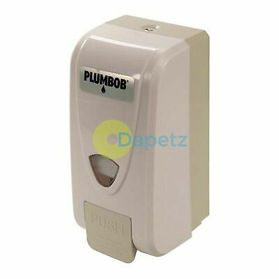 Soap Dispenser Wall Mounted 1Ltr Liquid Bathroom Hand Wash Shower Gel Toilet