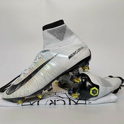 on sale d2dc5 f34dd NIKE MERCURIAL SUPERFLY V Ac Sg-Pro Cr7 Uk 8 Us 9 Football Boots Soccer  Cleats