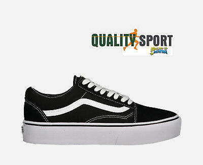 99b38d2f47 Vans Old Skool Platform Nero Scarpe Shoes Donna Sportive Sneakers VA3B3UY28