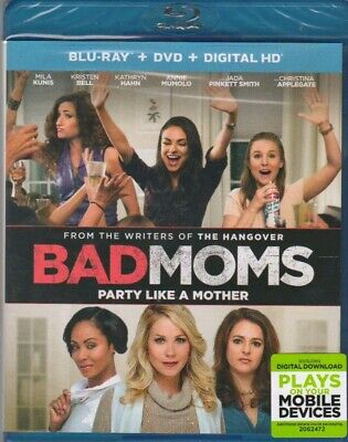 Bad Moms (Blu-ray, 2016)
