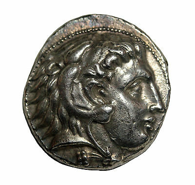 Kings Of Macedon Alexander III Great Silver Tetradrachm 336-323BC Ancient Coin