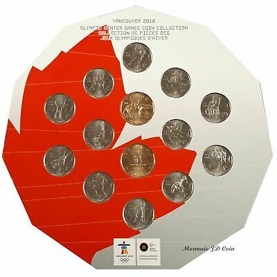 2010 Canada Vancouver Olympic Winter Games Coin Collection