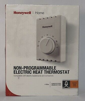honeywell ct410b manual electric baseboard thermostat $19 95