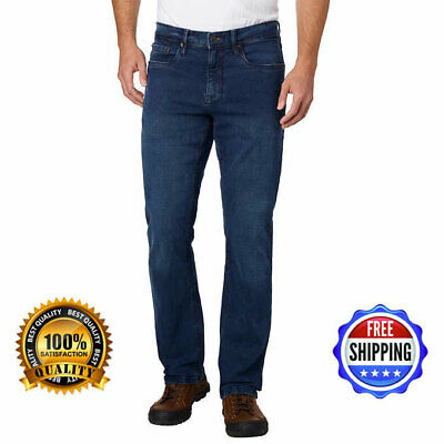Urban Star Men's Relaxed Fit Jeans ( Dark Blue) ** FREE SHIPPING **