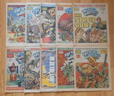 2000 AD Comic Issues 291 - 339: Good/Very Good
