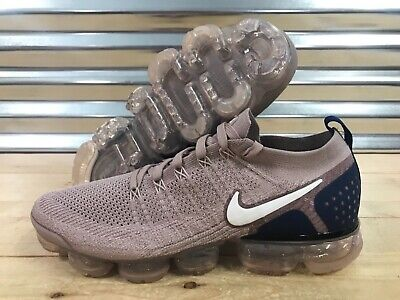 0fb81b071a0e0 Nike Air Vapormax Flyknit 2 Running Shoes Diffused Taupe Blue SZ ( 942842- 201 )