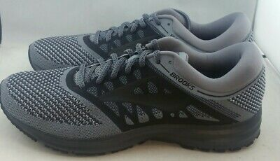 61d702bf207 Brooks Revel Grey Black Running Shoe s Men s US ...