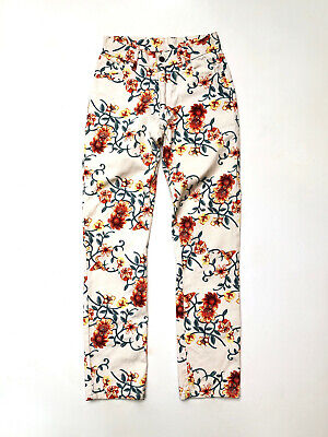 HOT TUNA!!! Vintage 1990s 'Hot Tuna' jeans with all over floral print