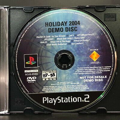 HOLIDAY 2004 DEMO Disc (Sony PlayStation 2, PS2) *NOT FOR RESALE*