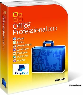 Microsoft Office Professional Plus 2010 Licencia Original ✔