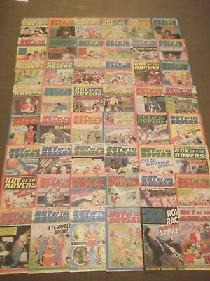 52 x ROY OF THE ROVERS from 1981 - Complete Year