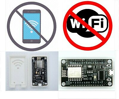 Wifi Jammer WITH CASE Deauther Hacker PLUG N PLAY ESP8266 NodeMCU