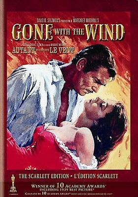 Gone With the Wind (DVD, 2010, Canadian The Scarlett Edition)