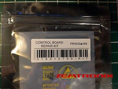 Control Board Repair Kit for 318010700 Frigidaire Electrolux Kenmore Maytag