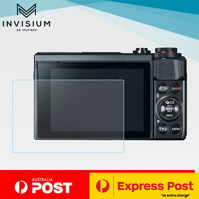 INVISIUM TEMPERED GLASS Screen Protector Guard Canon PowerShot G7X Mark II MK 2