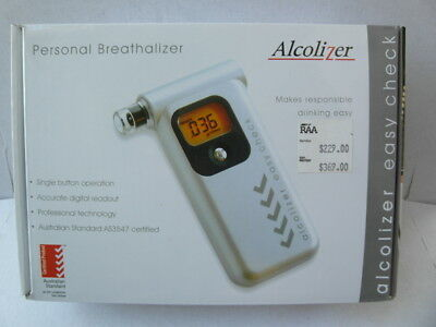 Alcolizer Personal Breathalizer