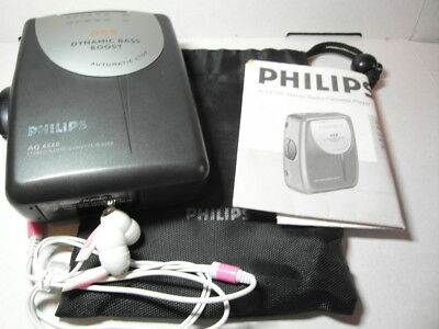 Philips Walkman AQ 6560 Stereo Audio Cassette Player