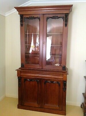 Antique Victorian Cedar Bookcase