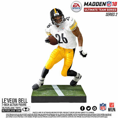 McFarlane NFL Madden 18 Series 2 LeVeon Le/'Veon Bell Steelers NEW LOOSE Figure