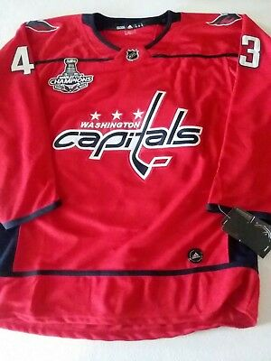 Washington Capitals  43 Tom Wilson Jersey W  Stanley Cup Champions Patch  S-3XL dc3fe2f4e