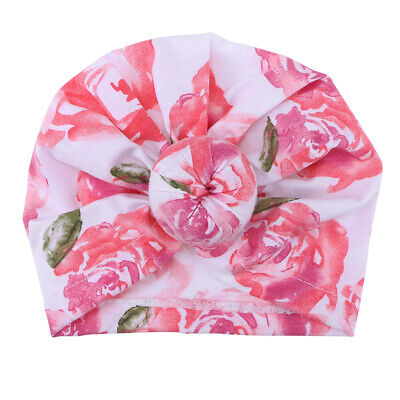 1PC Adorable Lovely Soft Cute Infant Turban Head Knot Wrap Hat for Princess Baby