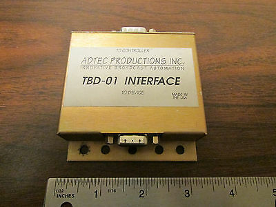 Adtec Productions TBD-01 Interface Rare Commercial Broadcast Video Device