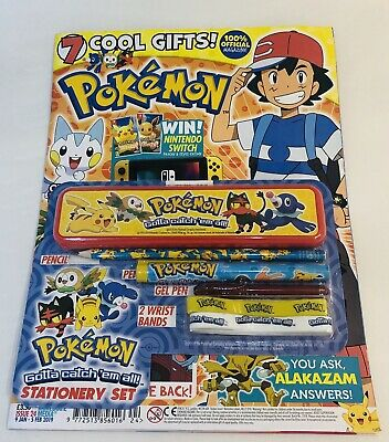 Pokémon OFFICIAL Magazine #24 With 7 COOL GIFTS! (BRAND NEW)