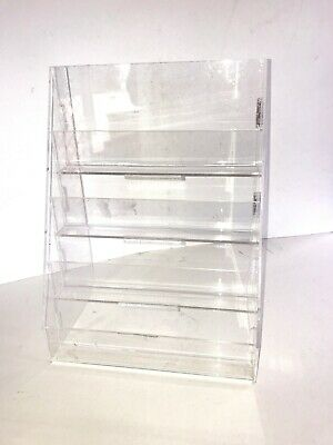 Acrylic Free Standing 4 TIER Document Holder