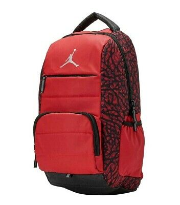 c814f9504e9a NWT NIKE JORDAN ALL WORLD LAPTOP BACKPACK  9A1640-R78 GYM RED Msrp ...