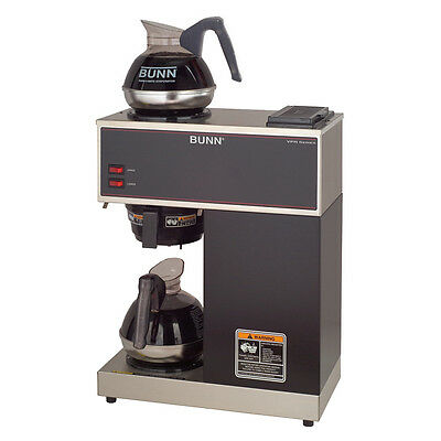 NEW BUNN COMMERCIAL Coffee Maker VPR Series Stainless SteeL #33200 Bunn Stf Coffee Maker Wiring Diagram on