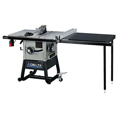 10 inch Left Tilt Contractor Table Saw Jobsite Compact Electric Right Hand Rip