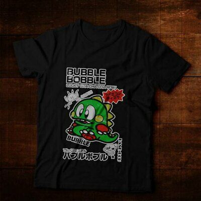 4add6495b88 Commodore C64 Amiga Game Gamer Gamming Bubble Bobble Vintage Retro T-Shirt