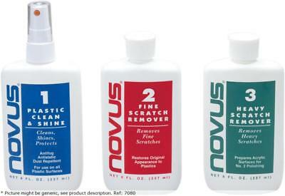 Novus plastic polish no3 heavy scratch remover 8 oz - Novus .